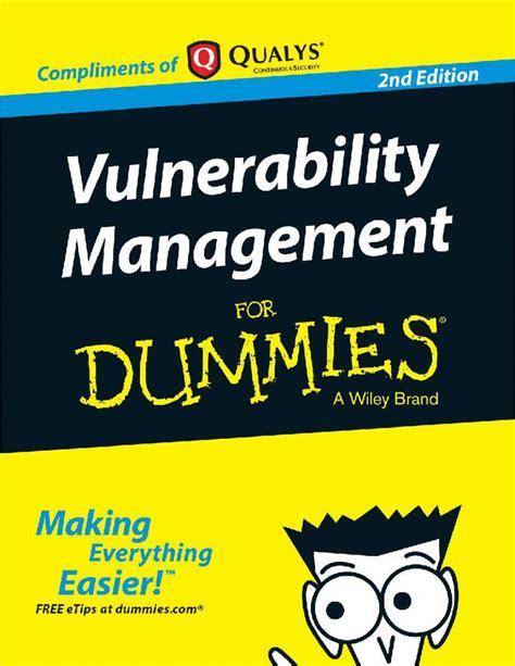 Vulnerability Management English Edition