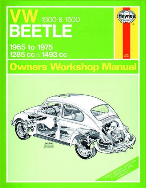 Vw Beetle Repair Manual Haynes