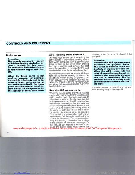 Vw Caravelle Engine Repair Manual