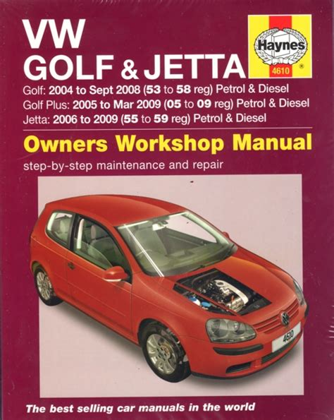 Vw Golf Jetta Service And Repair Manual 2004 2009 Service Repair Manual