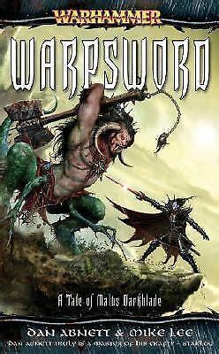 Warhammer Warpsword Darkblade No 4 By Abnett Dan 2007 Mass Market Paperback