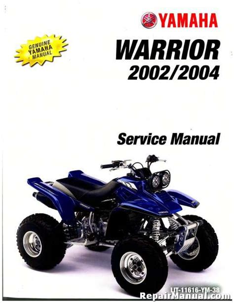Warrior Service Manual Repair