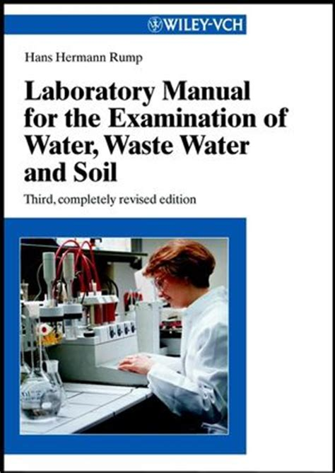 Water And Wastewater Analysis Manual