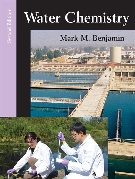 Water Chemistry Benjamin Solutions Manual