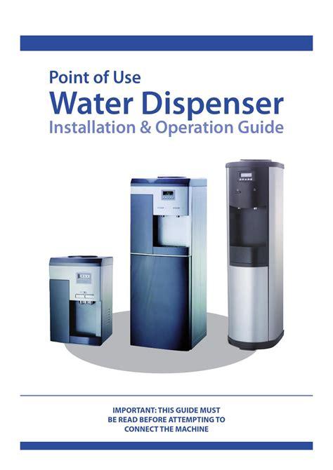 Water Cooler Manual