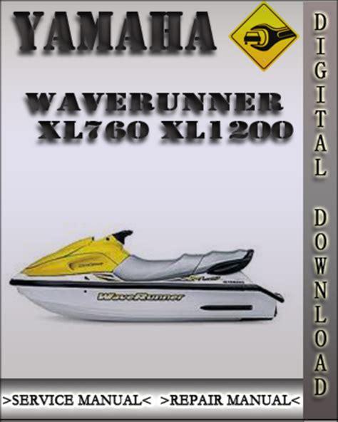 Waverunner Xl760 Manual