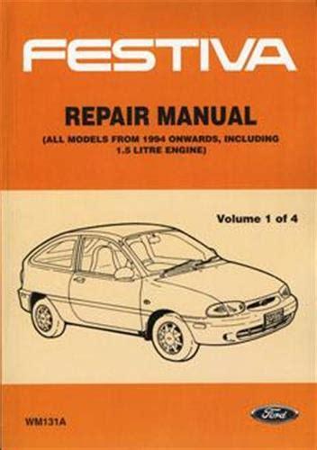 Wb Ford Festiva Workshop Manual