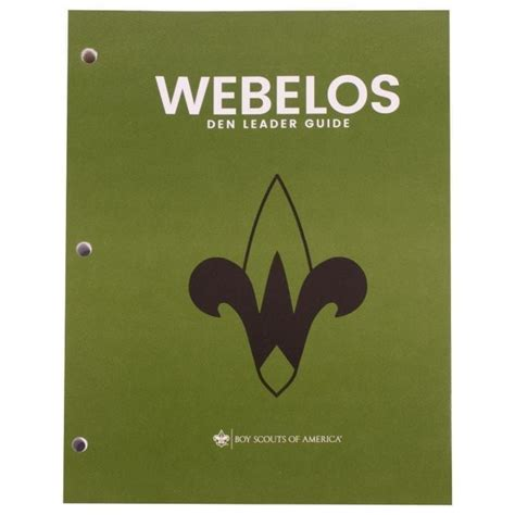 Webelos Leader Guide Showman
