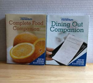 Weight Watchers Momentum: Dining Out Companion