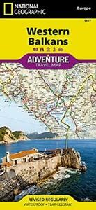 Western Balkans National Geographic Adventure Map