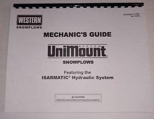 Western Snow Plow Repair Manual