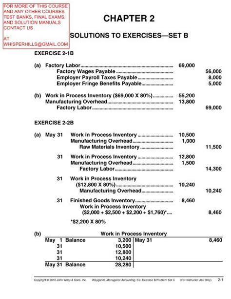Weygandt Accounting Principles 5th Edition Solution Manual