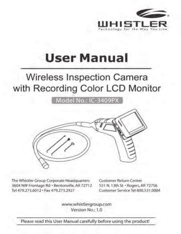 Whistler User Guides