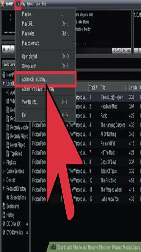 Winamp Manual Playlist Advance