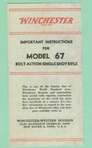Winchester Model 67 Manual