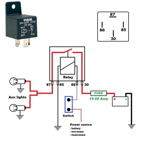 Wire A 12 Volt Relay Wiring Diagram