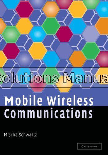 Wireless Communication Solution Manual Schwartz