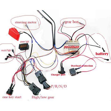 Wiring Diagram 12 Volt Ride On Toys