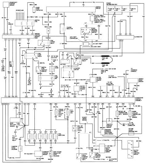 Wiring Diagram For 1993 Ford Explorer