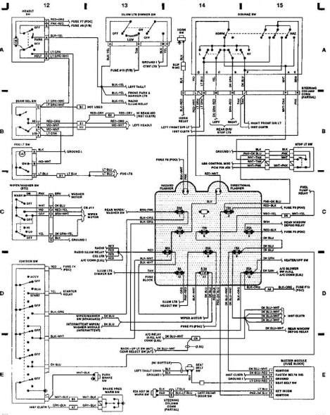 Wiring Diagram For 92 Jeep Wrangler