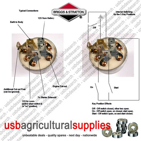 Wiring Diagram For Key Switch On Briggs