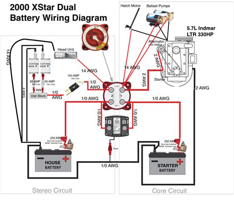 Wiring Diagrams For Marine Batteries