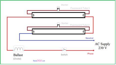 Wiring Multiple Fluorescent Light Fixtures