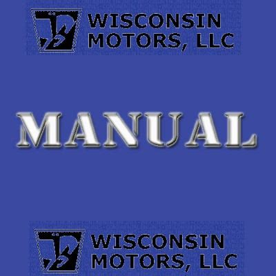 Wisconsin Engine Parts Manual W2 880 Ipl