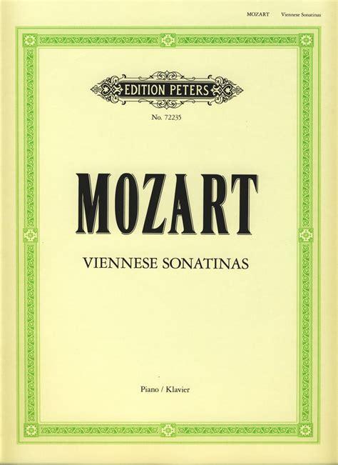 Wolfgang Amadeus Mozart 6 Sonatinas Vienesas Para Piano