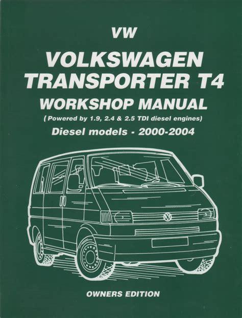 Wolksvagen Transporter Manual