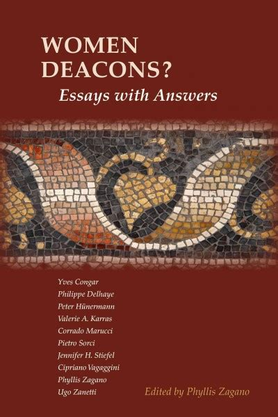 Women Deacons Essays With Answers