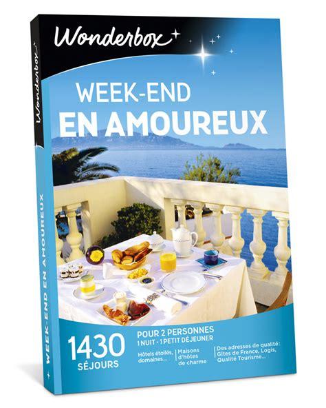 Wonderbox Coffret Cadeau Week End En Amoureux