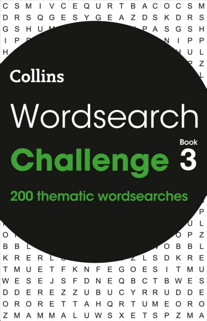 Wordsearch Challenge Book 1 200 Themed Wordsearch Puzzles