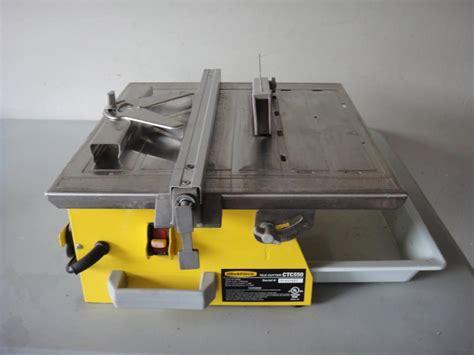 Workforce550 Tile Saw Manual
