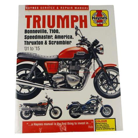 Workshop Manual For 1972 Triumph Bonneville