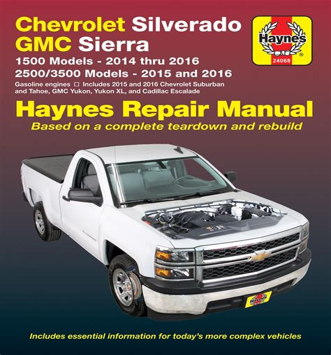 Workshop Manual Silverado