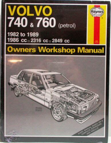 Workshop Manual Volvo 740