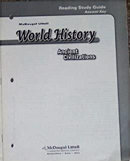 World Civilizations Study Guide Answer Key