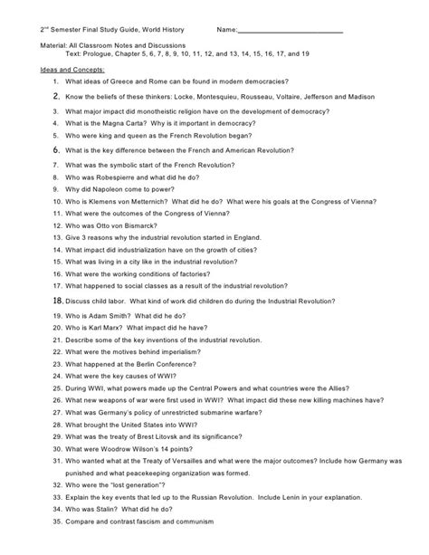 World History Rome Study Guide Answers