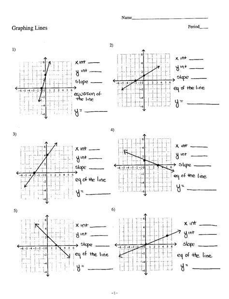 Writing Linear Equations Kuta Software Answer Key