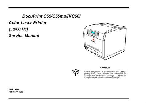 Xerox C55 Service Manual