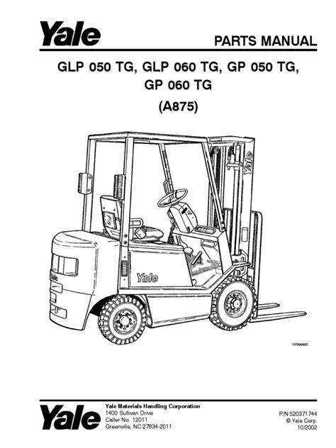 Yale Truck Type E Manual