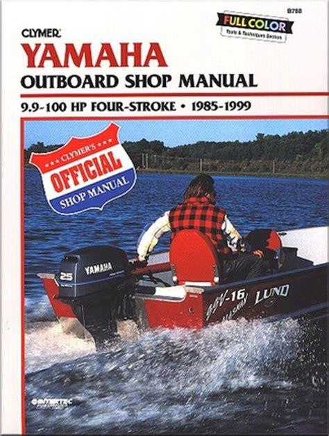 Yamaha 100hp 4 Stroke Manual