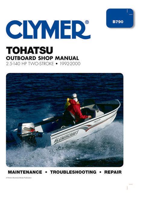 Yamaha 40hp Outboard Repair Manual Two Stroke