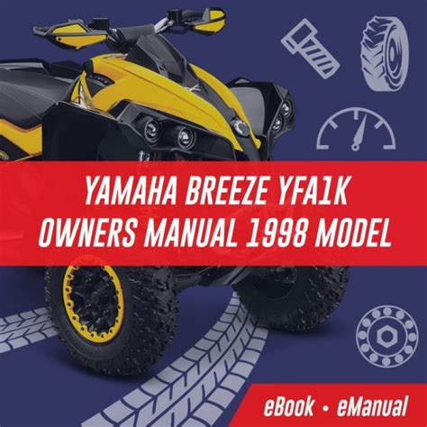Yamaha Breeze Yfa1k Owners Manual 1998 Model