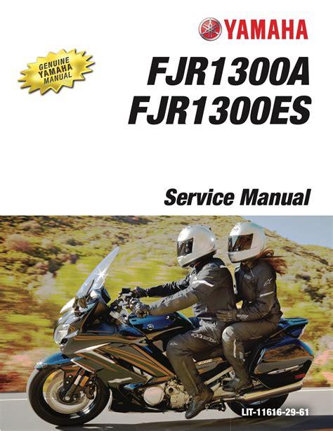Yamaha Fjr 1300 Service Manual