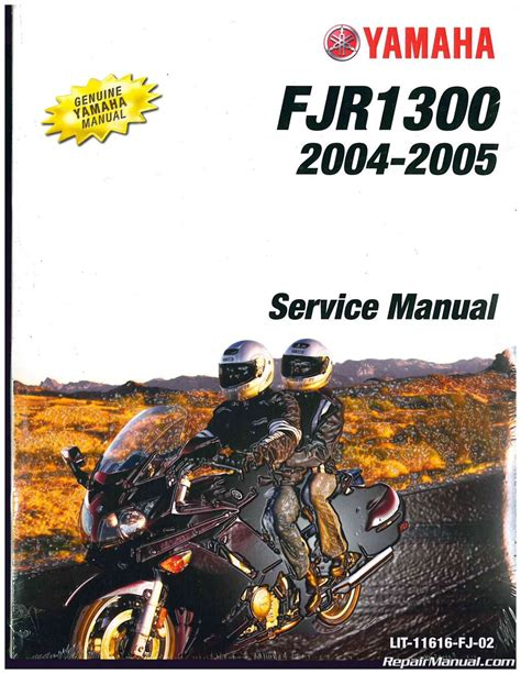 Yamaha Fjr1300 Service Repair Manual