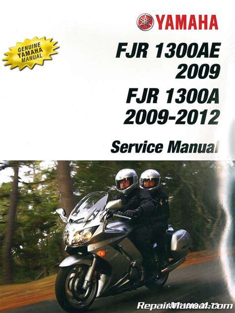 Yamaha Fjr1300 Workshop Manual