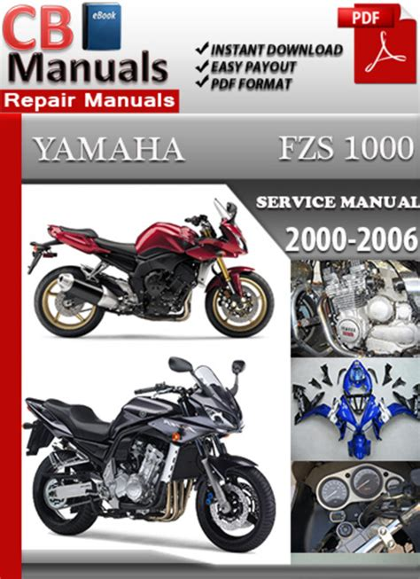 Yamaha Fzs1000 2000 2006 Service Repair Manual
