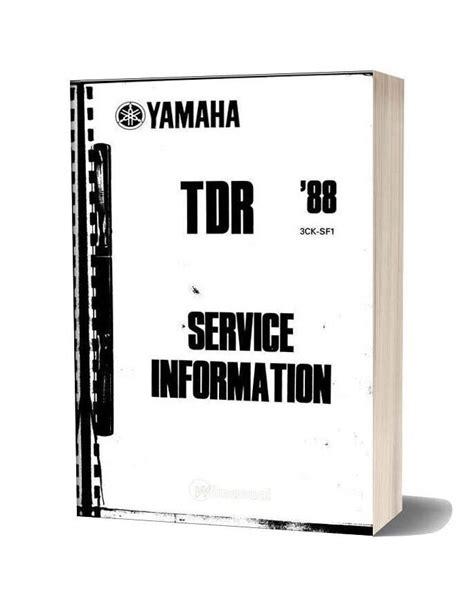 Yamaha It 250 Service Manual